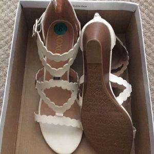 Off white sandals XOXO